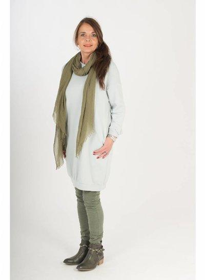 Gemma Ricceri Sweater dress Virginia licht grijs