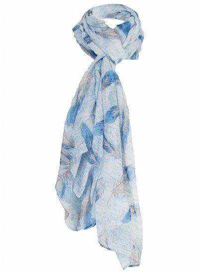Sjaal Veerle blauw