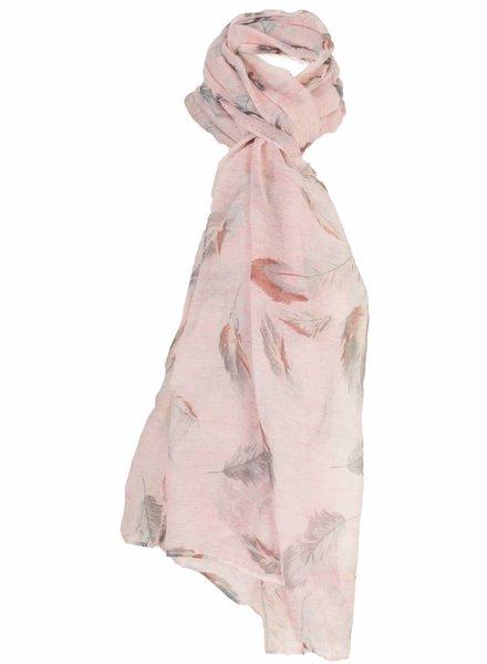 Sjaal Veerle roze