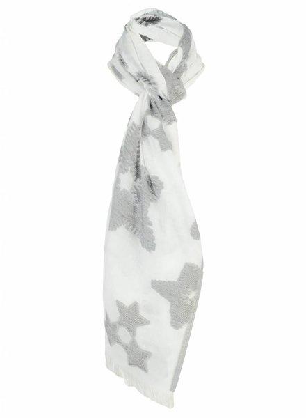 Sjaal cristal grijs