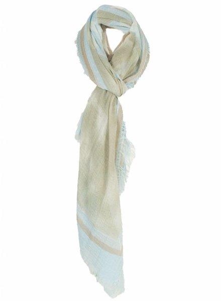 Sjaal America blauw
