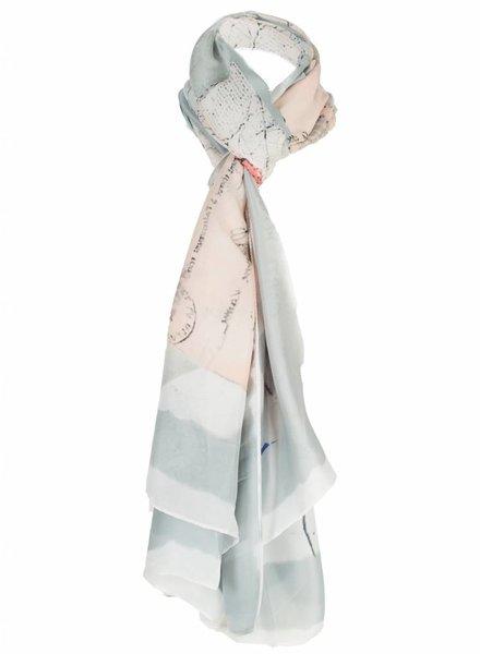 Sjaal Kelly grijs
