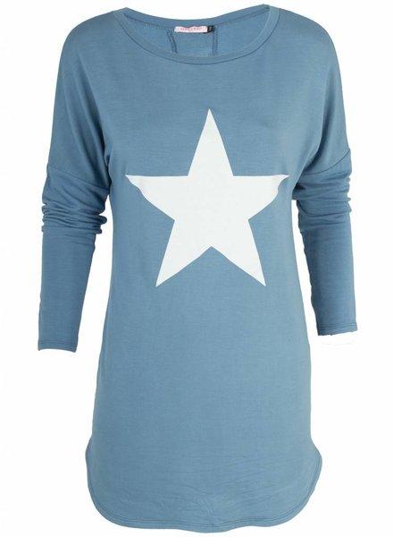 Gemma Ricceri Tuniek Fenna jeans blauw