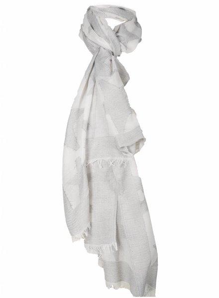 Sjaal ster grijs