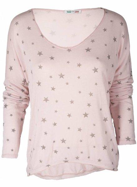 Gemma Ricceri Trui Little Stars roze