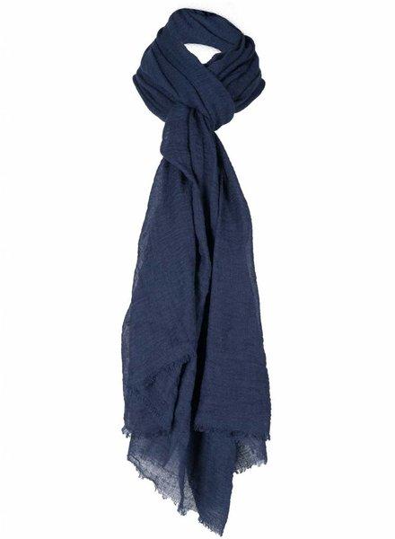 Sjaal basic Lisa donker bauw