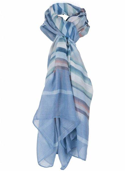 Sjaal Nova blauw