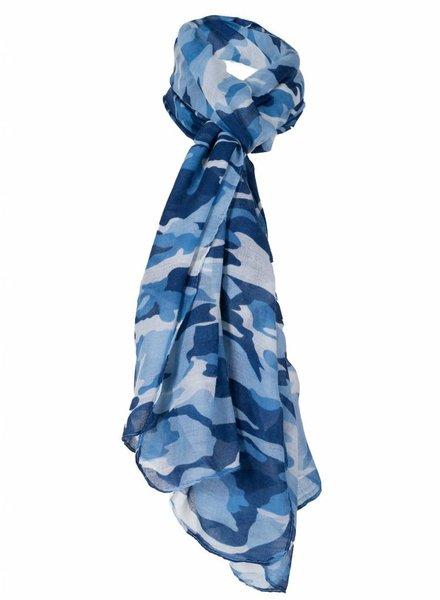 Sjaal Camouflage blauw