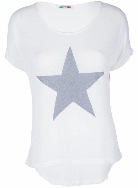 Gemma Ricceri Shirt Ster wit