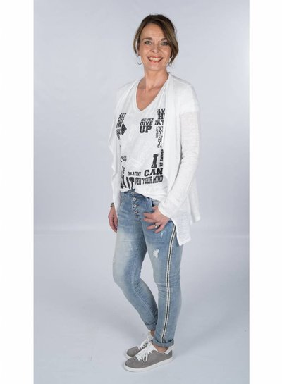 Gemma Ricceri Shirt Start Now wit