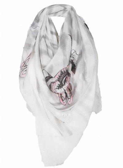 Sjaal Bull Zomer roze