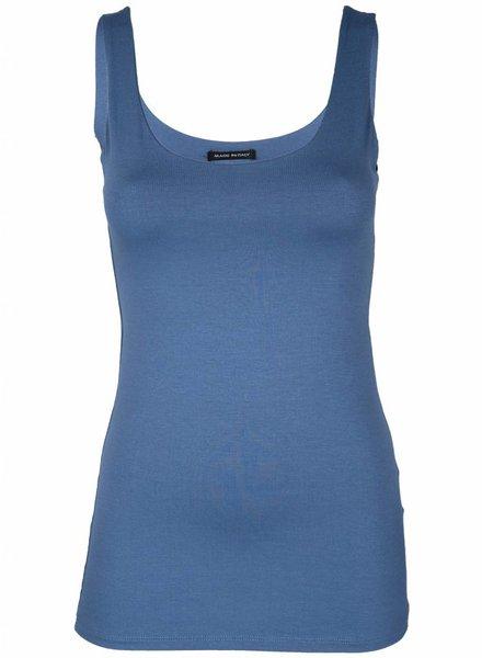 Top Basic kort blauw
