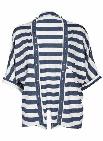 Gemma Ricceri Vest Sandy blauw