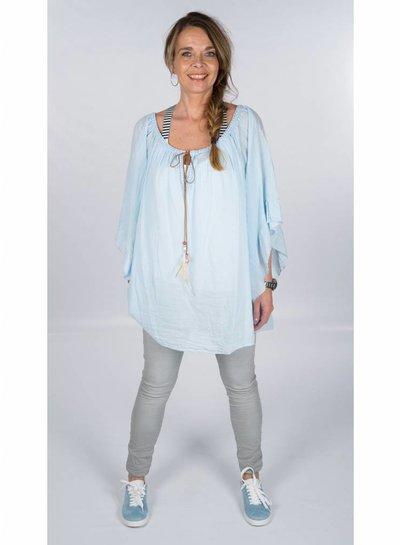 Gemma Ricceri Blouse Trudy blauw