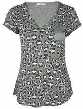 Gemma Ricceri Shirt panter groen