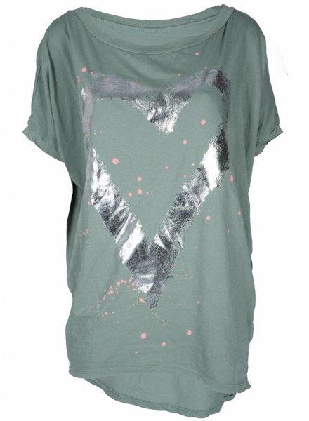 Gemma Ricceri Shirt Nienke groen