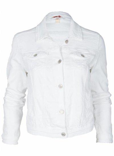 Place du Jour Jogging jeans jasje wit