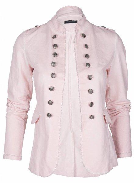Moda Bella Jasje Barok kort roze