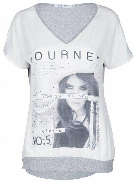 Gemma Ricceri Shirt Journey grijs