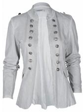 Moda Bella Jasje barok kort grijs