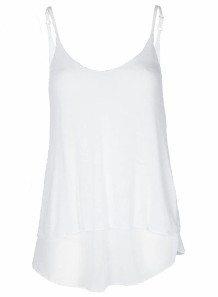 Rebelz Collection Top Voile wit