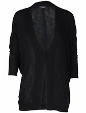 Rebelz Collection Vest Basic knoop zwart