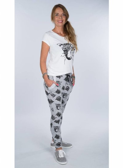 Rebelz Collection Shirt Cats zwart