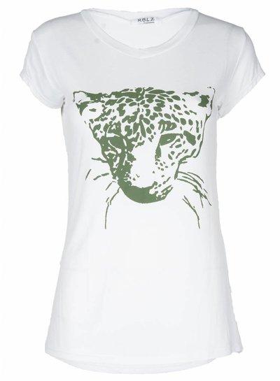 Rebelz Collection Shirt Cats groen