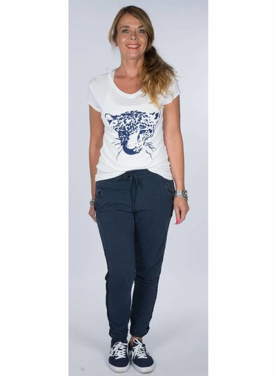 Rebelz Collection Shirt Cats blauw