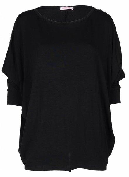 Gemma Ricceri Shirt Big Luzia zwart