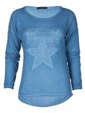 Gemma Ricceri Sweater Vintage blauw