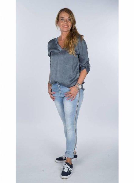 Gemma Ricceri Blouse Julina blauw