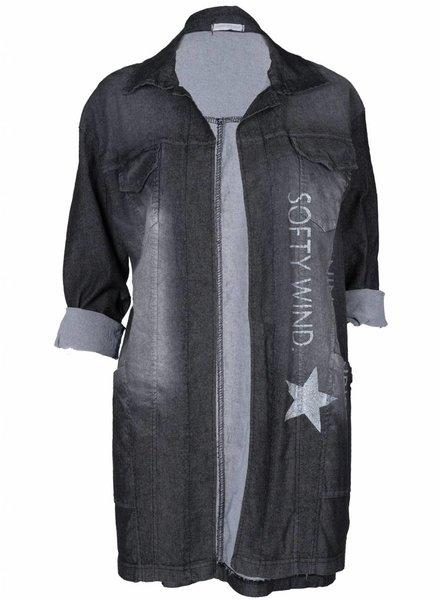 Gemma Ricceri Jacket Jeans antraciet