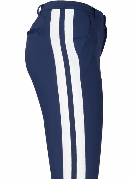 Rebelz Collection Broek travel Jemisa blauw