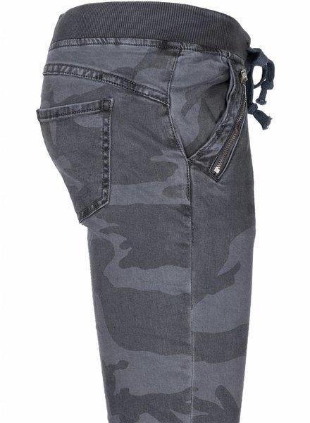 Broek Camouflage grijs/blauw