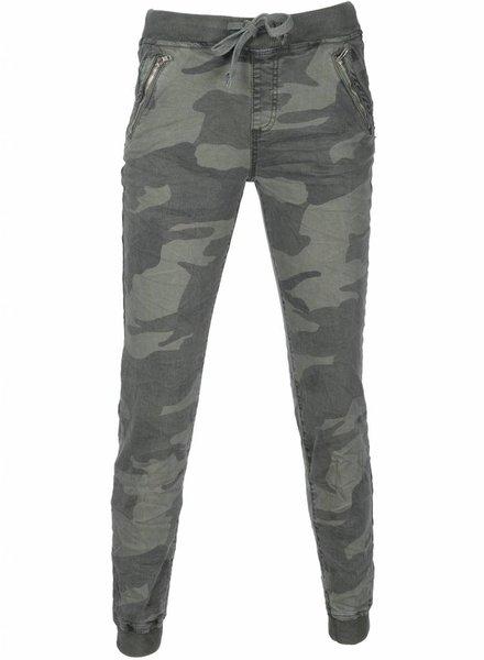 Broek Camouflage groen/grijs