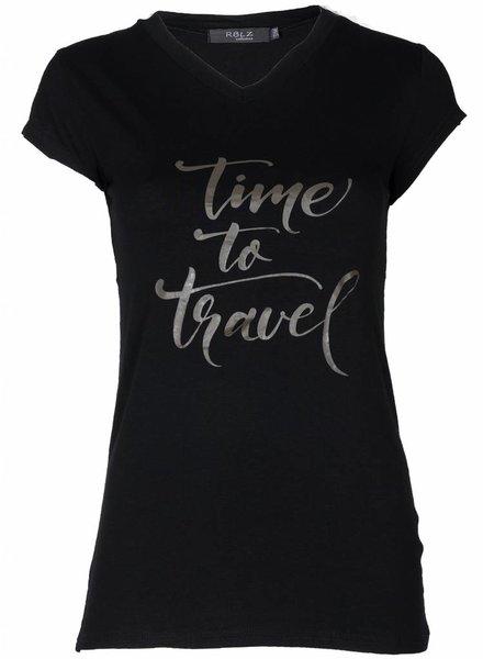Rebelz Collection Shirt Time zwart/army
