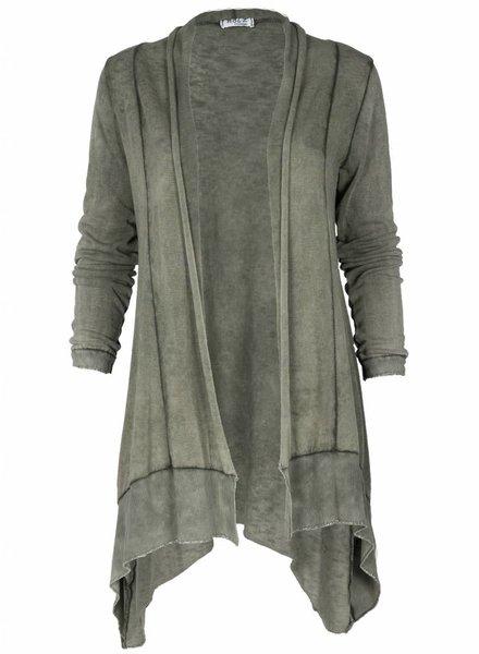 Rebelz Collection Vest Aletta groen