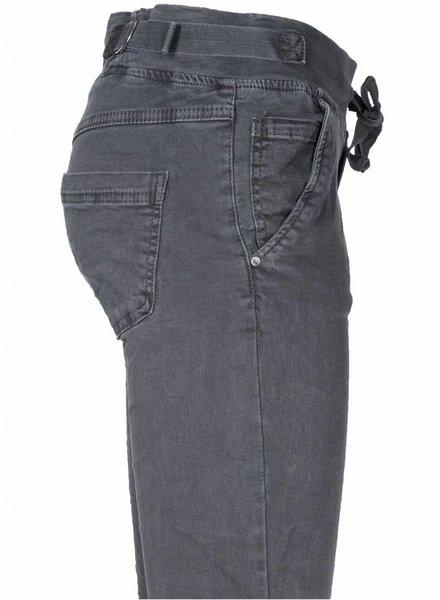 Melly&Co Jogging jeans Dina grijs