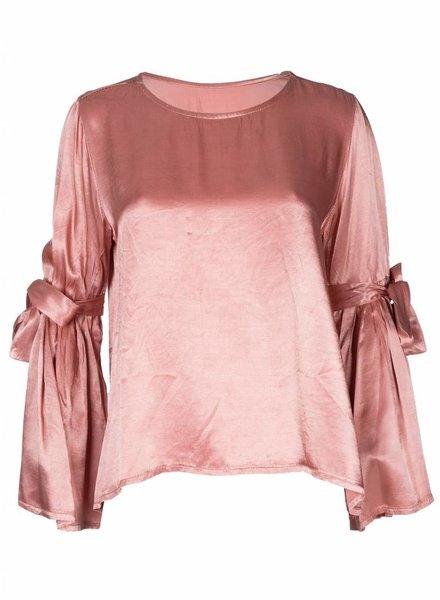 Blouse Silky roze