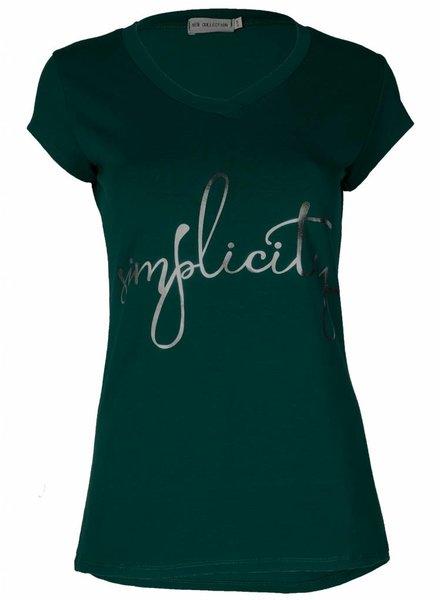 Gemma Ricceri Shirt Simplicity groen