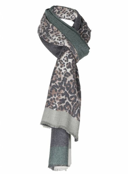 Sjaal Lima groen