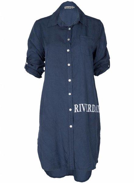 Blouse Riverdale blauw