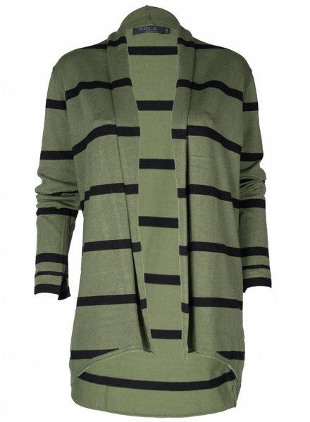 Gemma Ricceri Vest Kyara zwart/groen