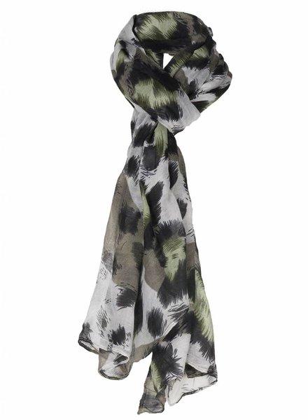 Sjaal Celia groen