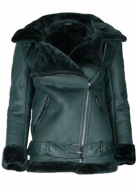 Gemma Ricceri Jas Lammy Coat groen