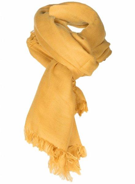 Sjaal Francis okergeel