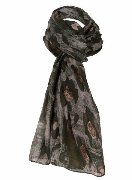 Sjaal Megan groen