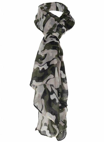Sjaal Camouflage groen