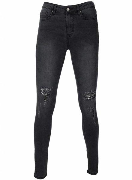 Rebelz Collection Jeans Zoe grijs